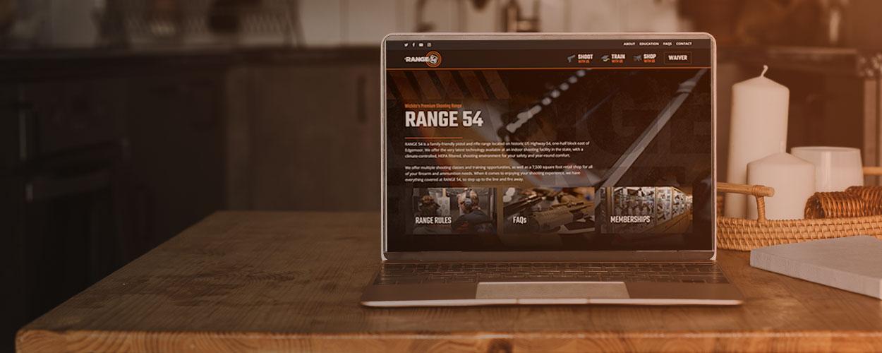New Range 54 Website